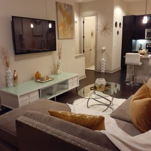 Living romm interior decoration
