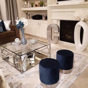 Interior design of the living room