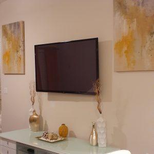 living room TV interior decoration